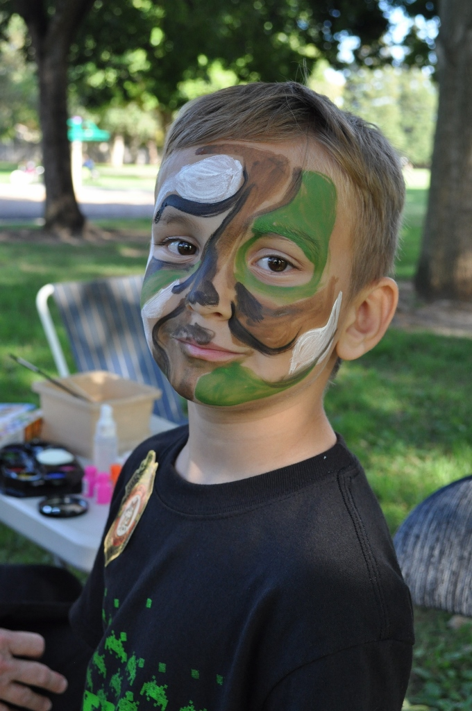 BRECA Picnic In The Park 2013 - Face Painting