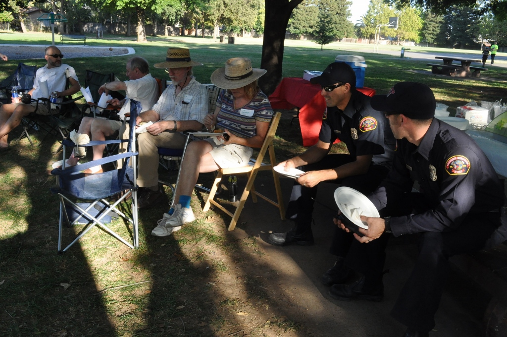 BRECA - Potluck In The Park - 2015 - Fire Fighters