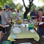BRECA Picnic In The Park 2012 - Food looks good.
