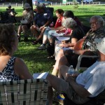 BRECA Picnic In The Park 2012 - Neighbors Visiting