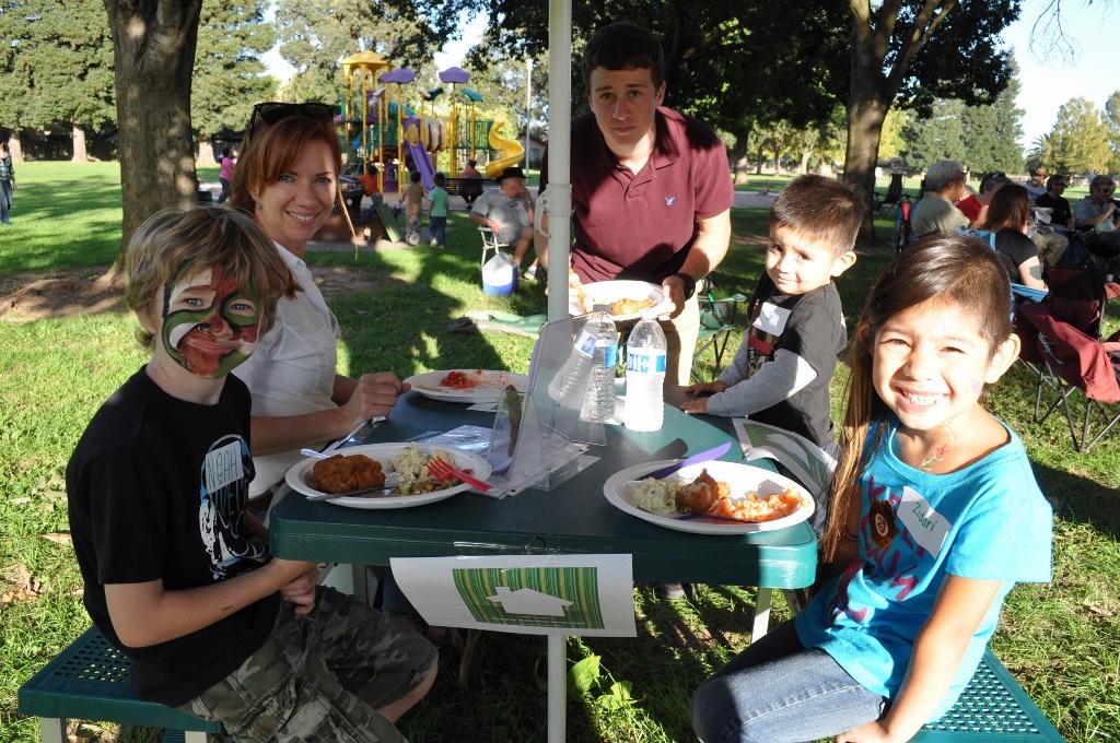 BRECA Picnic In The Park 2013 - Nice Table