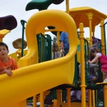 BRECA - New Playground Equipment - This is fun!