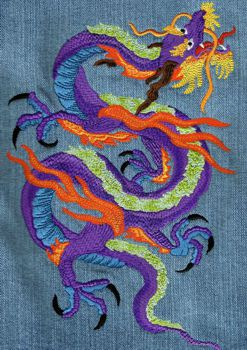Chinese Dragon by Threadlove