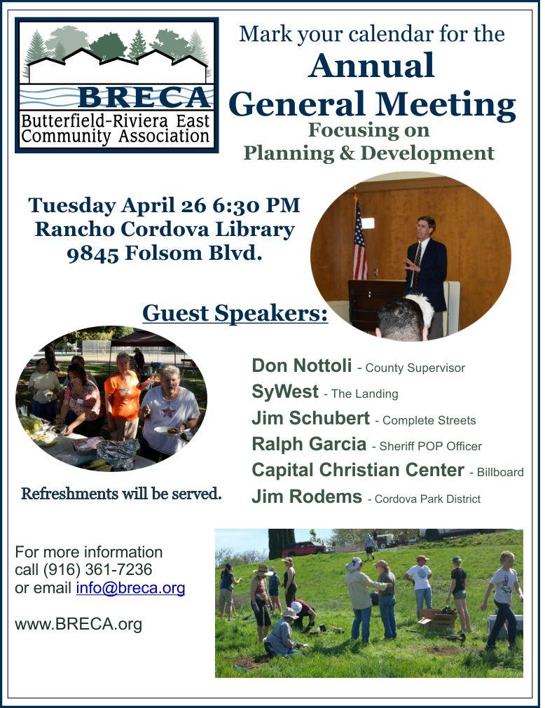 2016 General Meeting