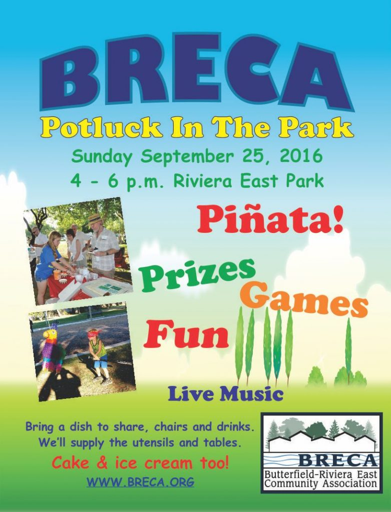 BRECA Potluck in the Park