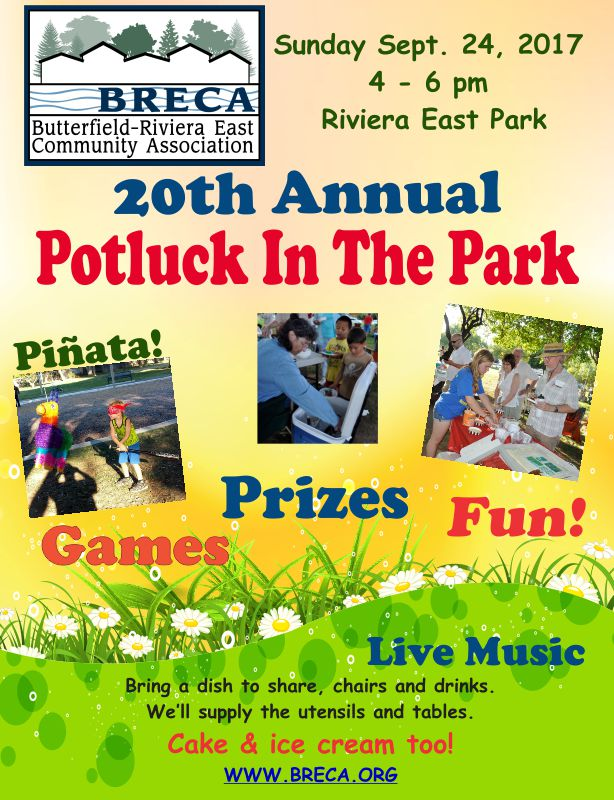 2017 Potluck In The Park